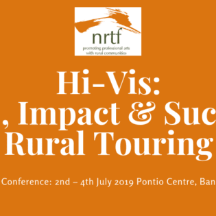 2019 conference & Rural Touring Awards