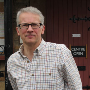 Chris Bridgman newly appointed Artistic Manager for Kirkgate Arts in Cumbria