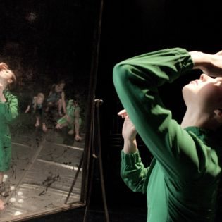 What's it like to experience dance up close?
