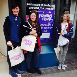 Young Promoters' Trip to Brighton Fringe