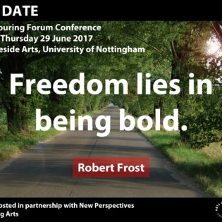 Programme update for Being Bold and last chance to book your place at the NRTF conference