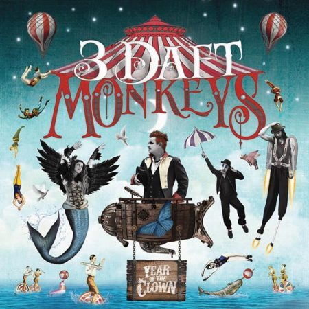 SOLD OUT 3 Daft Monkeys – Year of the Clown