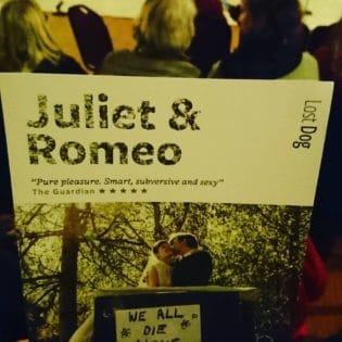 NRTF Director goes to Juliet & Romeo