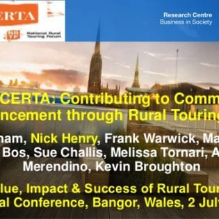 CONCERTA Presentation at Hi-Vis: NRTF Conference 2019