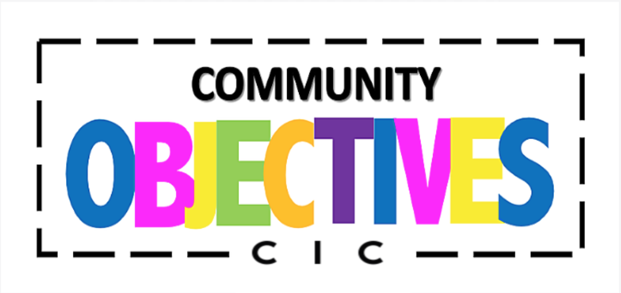 View member Community Objectives CIC