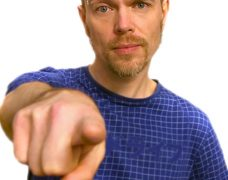 Dominic Berry (for work for just adults) / Dommy B (family shows)