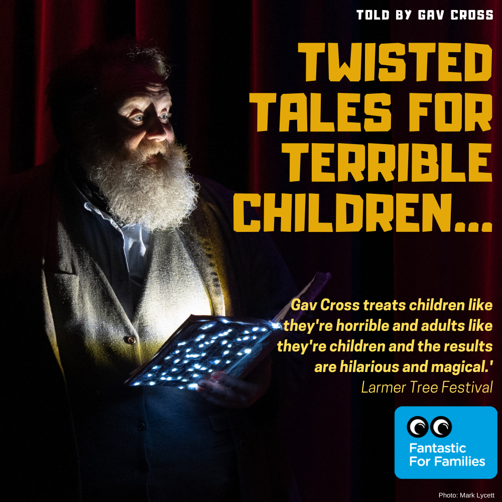 Twisted Tales for Terrible Children… Available now. Inside. Outside and Online!