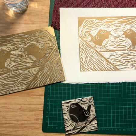 Introduction to Lino Printing Workshop – Liz Jones Studio