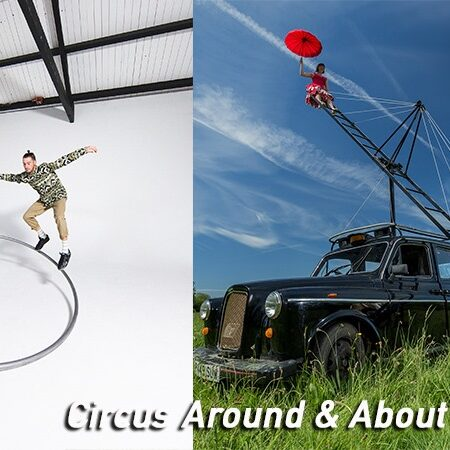 Circus Around & About: Roll Up, Roll Up (Simple Cypher) and Pirate Taxi (Pirates of the Carabina)