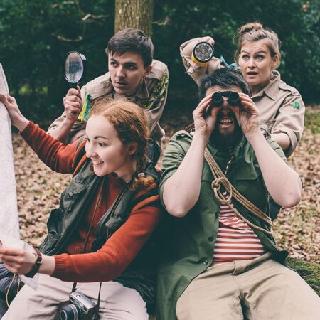 Open-Air Theatre: PaddleBoat Theatre presents Rustle