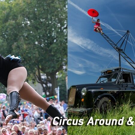 Circus Around & About: a circus double bill featuring Ripe (Tilly Lee-Kronick) and Pirate Taxi